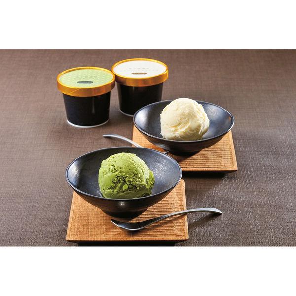 希少糖ジャージーミルク&土佐茶アイス