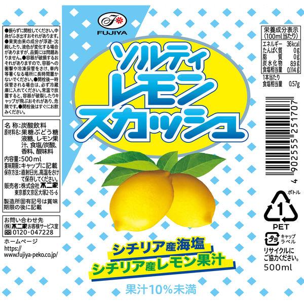 ソルティレモンスカッシュ500ml×6