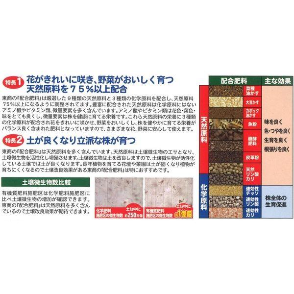 東商 配合肥料 4kg [0307]