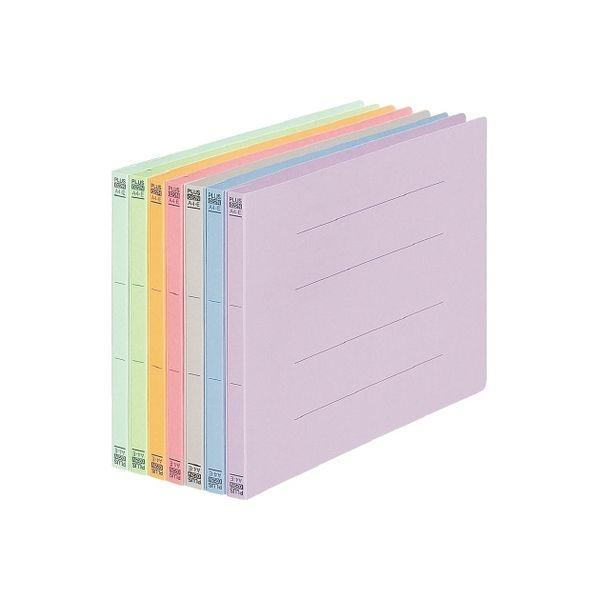 プラス フラットファイル 022N A4E グレー 10冊 NO.022N10GY(直送品)