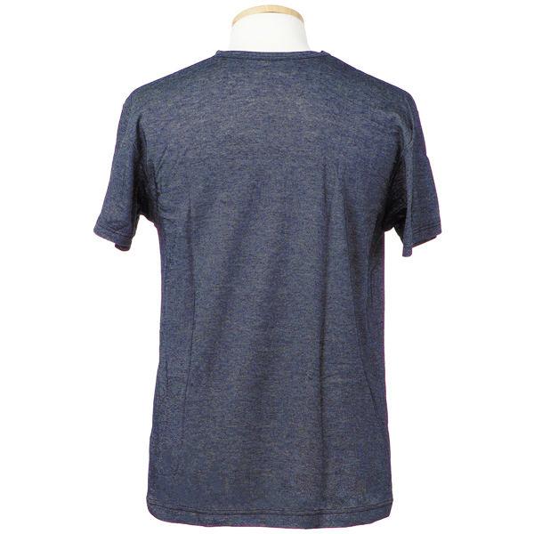 VIP半袖Tシャツ V首 M ネイビー