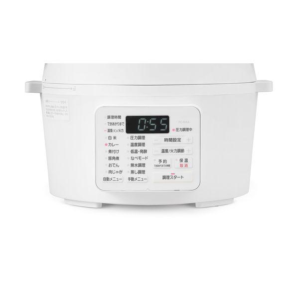 アイリス 電気圧力鍋 PC-MA4-W