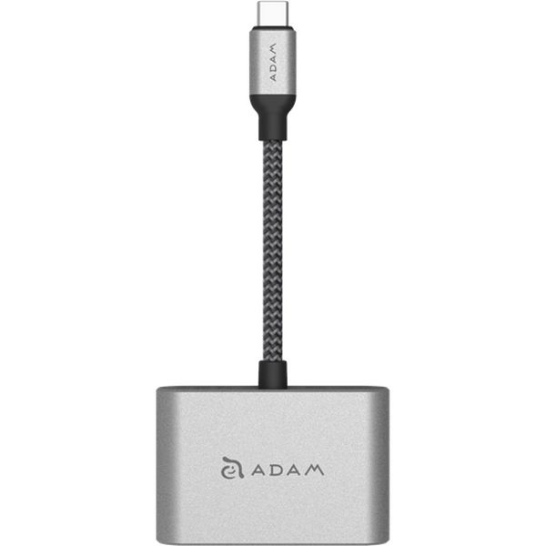 ADAM elements CASA HUB VH1 Type-C to HDMI/VGA変換アダプタ AAPADHUBVH1GYJ 1個(直送品)