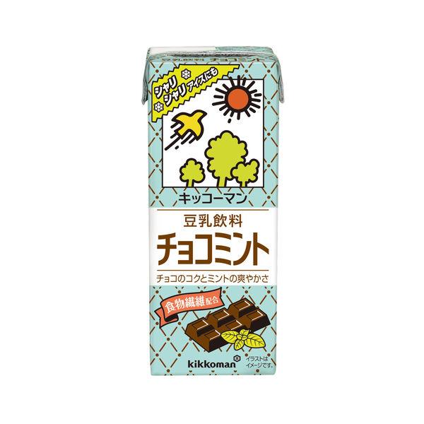 豆乳飲料チョコミント 200ml 18本