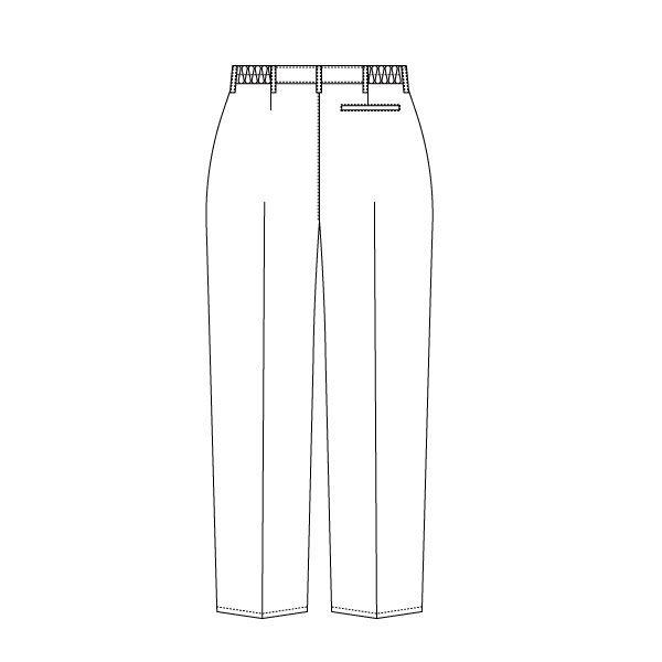 住商モンブラン ローラアシュレイ メンズパンツ LM791 オフホワイト L 医療白衣 1枚 (直送品)