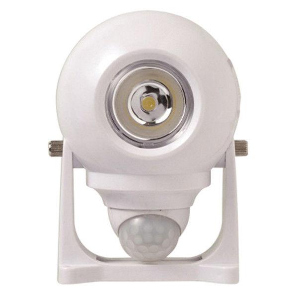 大進 ホーム式乾電池センサーライト白 DLB-NH200W(直送品)