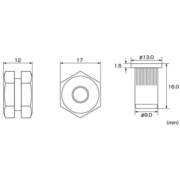 エビ ハンドナッター ちょっとナッター HNC06R1パック ロブテックス (直送品)
