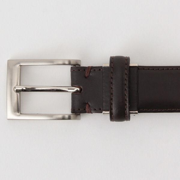 無印 ヌメスムース革調整式ベルト