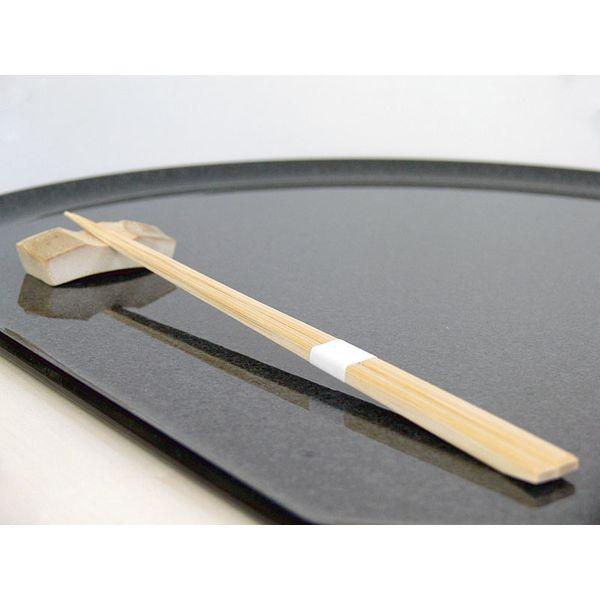 アステップ 最高級箸「持て成し箸」 竹一番 先細帯付 23.5cm 100膳/小箱 212(直送品)