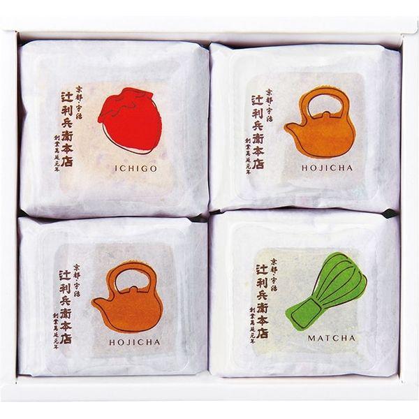 【ギフト・手土産5箱セット】辻利兵衛本店 賽の茶 TJSC-4-5 1セット(4個入×5箱)(直送品)