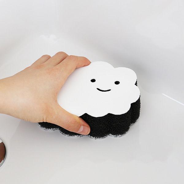 ペタッ!と貼りつくスポンジ お風呂用