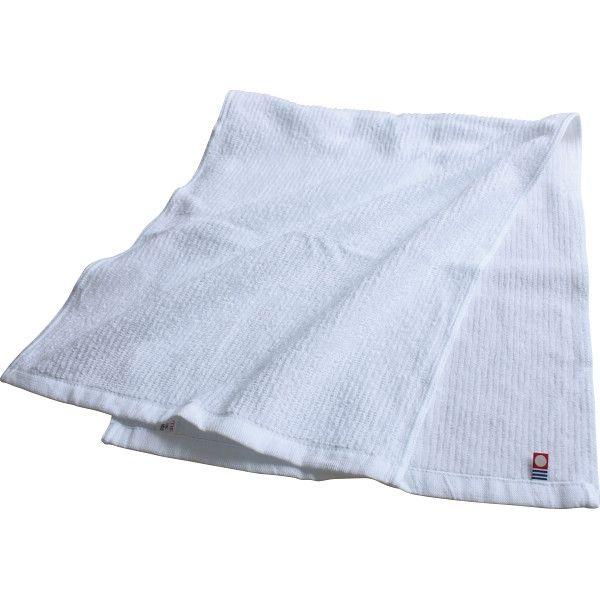 【5個セット】今治 あぜ織りフェイスタオル IMS42005  (直送品)