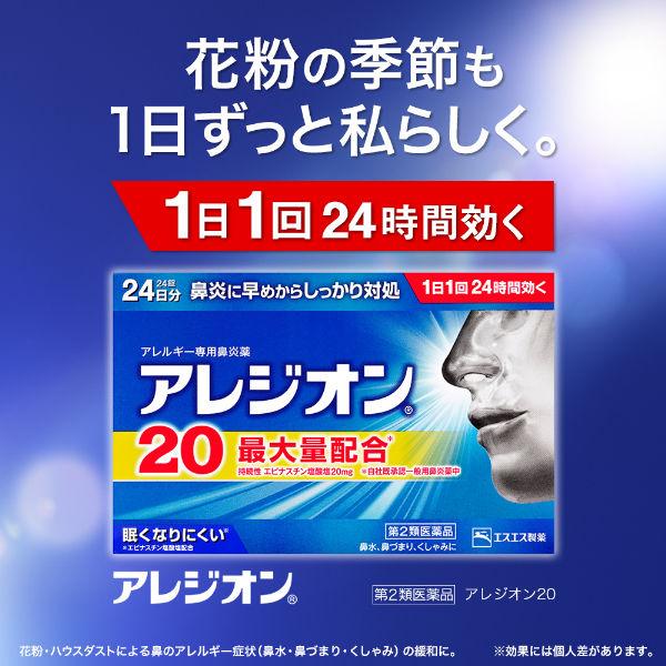 アレジオン20 24錠 2個