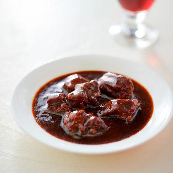 素材を生かした 牛肉の赤ワイン煮 2袋