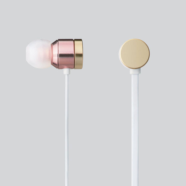 エレコム ステレオヘッドホン  耳栓型
