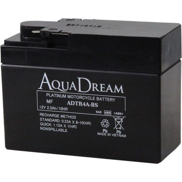 【バイク用品】AQUA DREAM(アクアドリーム) バイク用バッテリーシールド型MF ADTR4A-BS 1個(直送品)