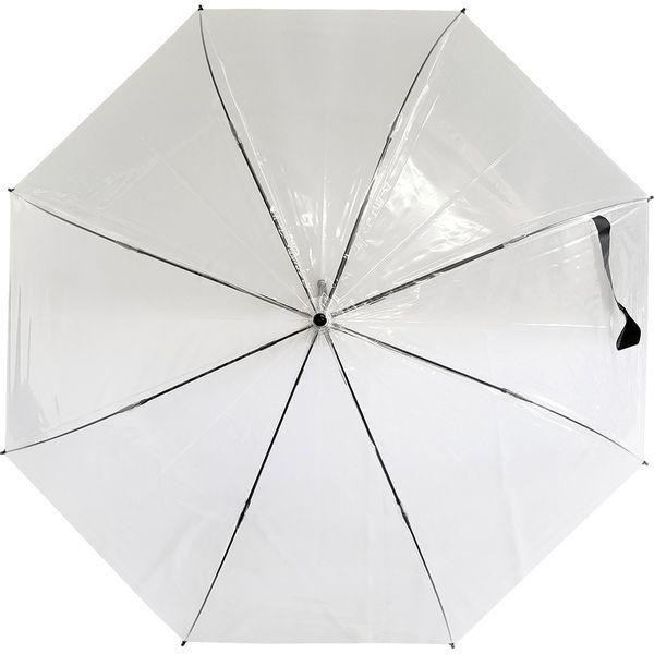 共栄工業 70cm ビニール ジャンプ傘 透明 40096 1セット(12本)(直送品)