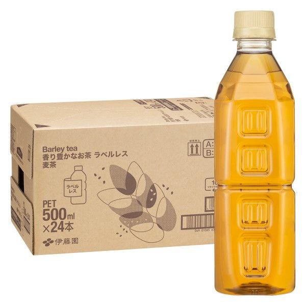 香り豊かなお茶 麦茶 500ml 24本