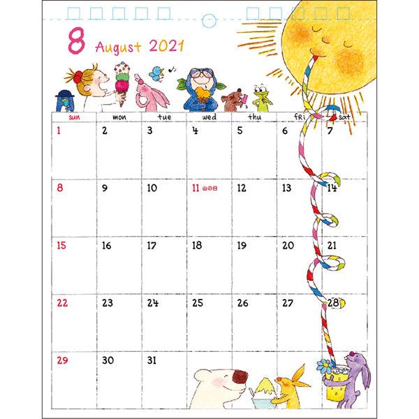 卓上カレンダー ココ 160×124