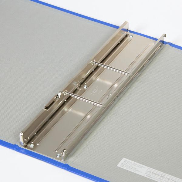 キングジム パイプファイル A4タテ とじ厚80mm 青 C88ー2 1冊