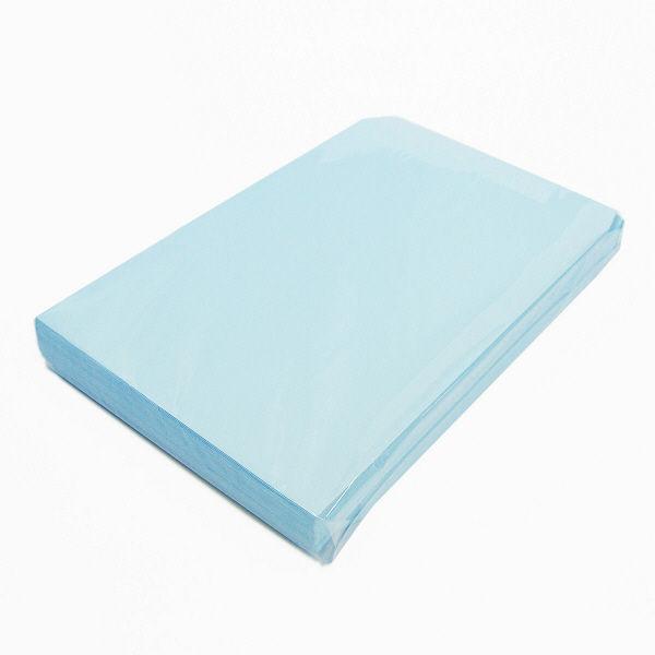 透けない封筒 角2 テープ付 青100枚