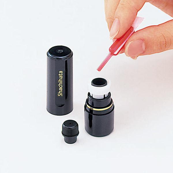 シャチハタ補充インク データネーム・ブラック11・Xスタンパー用 XLR-11N 赤 25本(5本入×5パック)