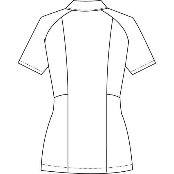 ルコックスポルティフ ナースジャケット レディスジャケット(ラウンドカラー) UQW1012 ホワイト S