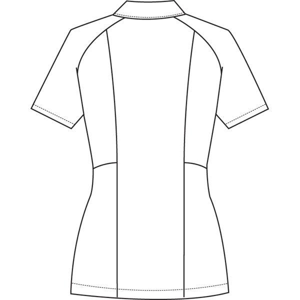 ルコックスポルティフ ナースジャケット レディスジャケット(ラウンドカラー) UQW1012 ブルー L