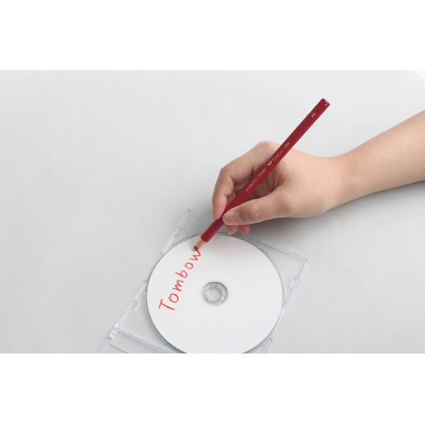 トンボ鉛筆 マーキンググラフ 白 2285-01 1ダース(12本入)