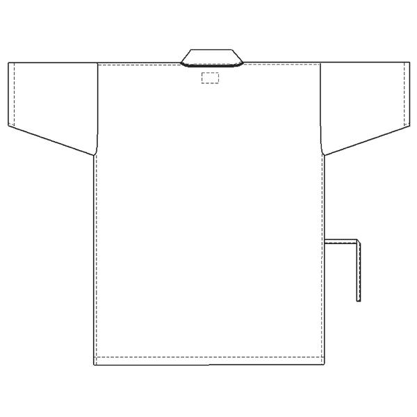 ナガイレーベン 患者衣 じんべい型 ブルーS SG1441 (取寄品)