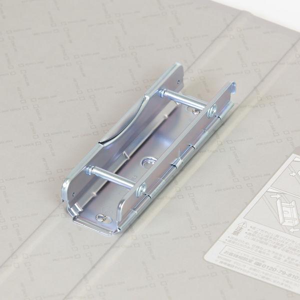 キングファイルG GXシリーズ A4タテ とじ厚30mm背幅46mm グレー キングジム 片開きパイプファイル 973GXクレ 10冊