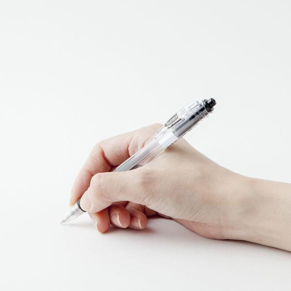 ゼブラ エマルジョンインクボールペン スラリ ブラック軸 0.7mm 黒インク BN11-BK 1箱(10本入)