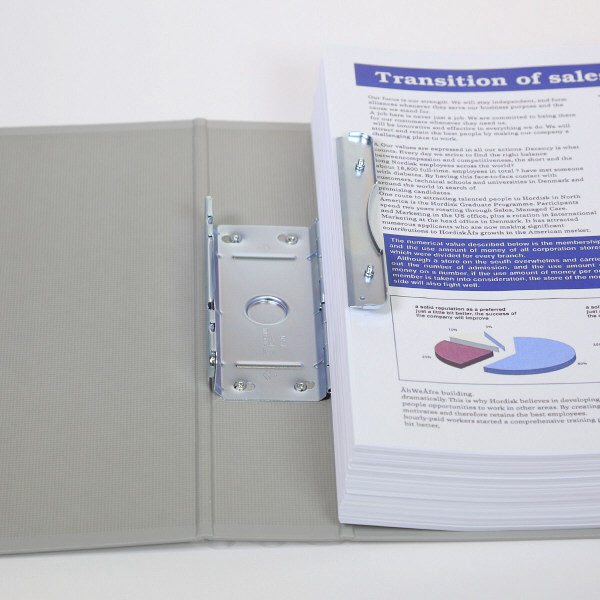 キングファイルG A4タテ とじ厚100mm背幅116mm グレー キングジム 片開きパイプファイル 970Nクレ 3冊