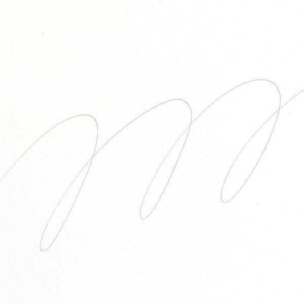 三菱鉛筆(uni) VERY楽ボ 油性ボールペン替芯 極細0.5mm SA-5N 赤 1本