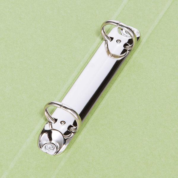 リングファイル 丸型2穴 A4タテ 背幅27mm 10冊 アスクル シブイロ グリーン