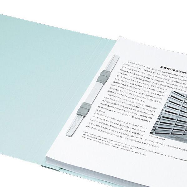 フラットファイル A4縦 濃青 100冊