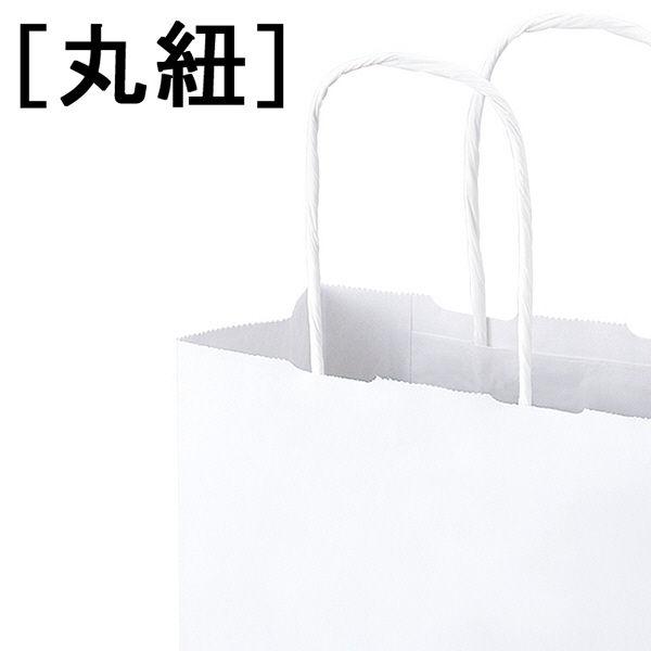 丸紐手提袋 320×400×115 白
