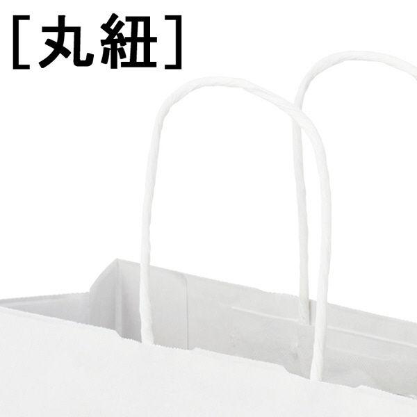 丸紐手提袋 320×350×210 白