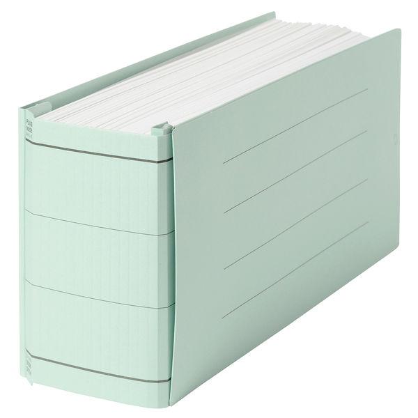 プラス 背幅伸縮フラット セノバスエコノミー 統一伝票用 ブルー 88315 1箱(10冊入)