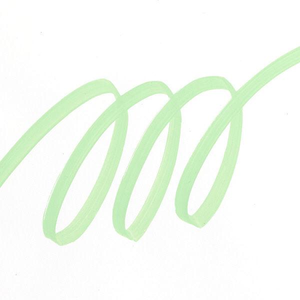 uniポスカ 太字 黄緑