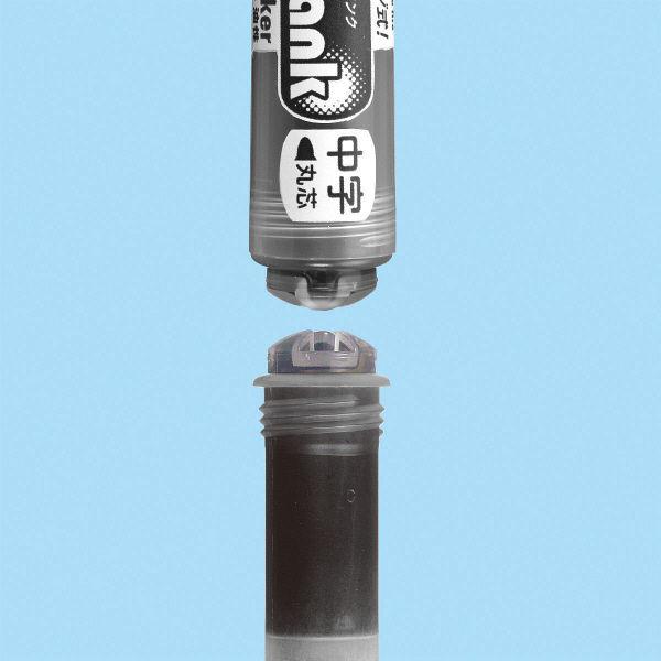 サクラクレパス ホワイトボードマーカー イータンク中字あお WBK-CM#36 1箱(10本入)