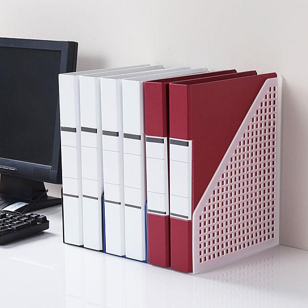 ボックスファイル A4 5個 PP製 クリア セリオ