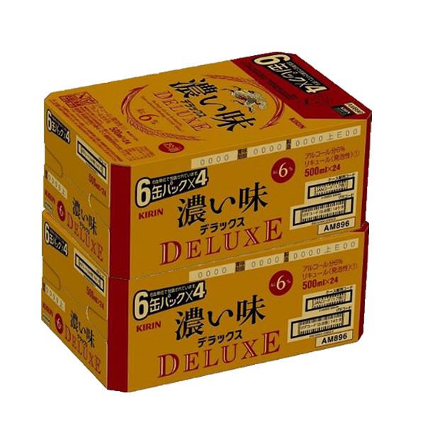 濃い味デラックス500ml×48缶