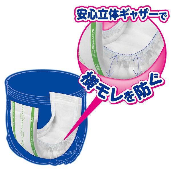 アテント紙パンツにつける尿とりパッド4回