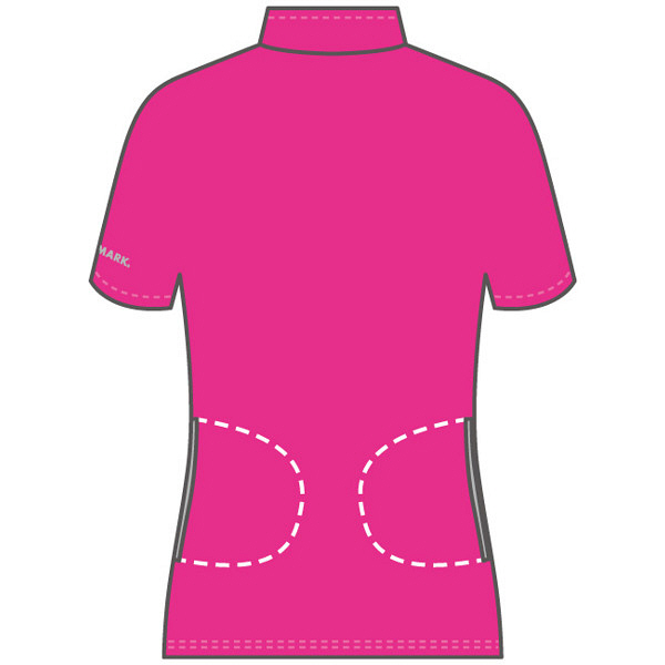 フットマーク 介護ウェア ジップアップシャツ ネイビー L (取寄品)