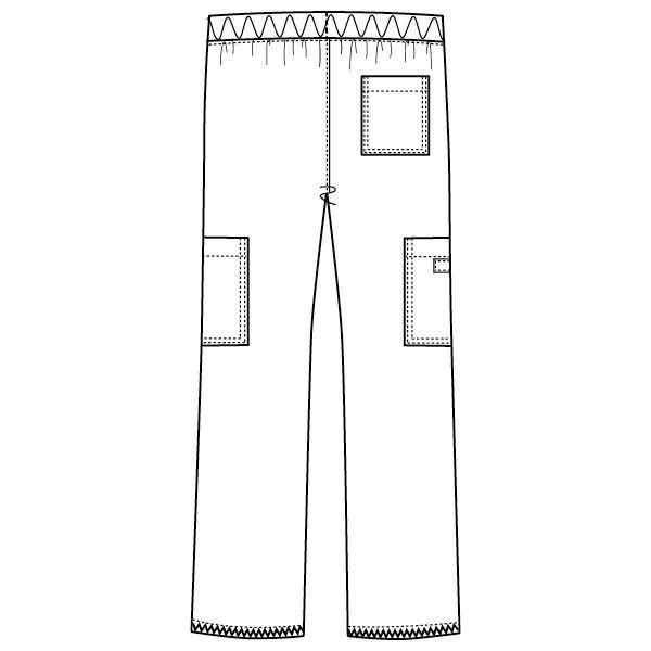 フォーク ディッキーズ カーゴパンツ(男女兼用) 5017SC-2 ブルーストレーキ LL スクラブパンツ (取寄品)