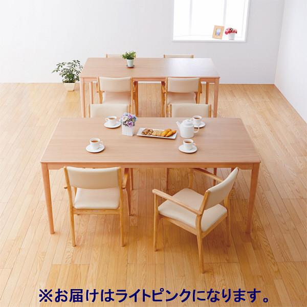 コイズミファニテック 介護施設用椅子 GMC-R1-LP-N ライトピンク/ナチュラル