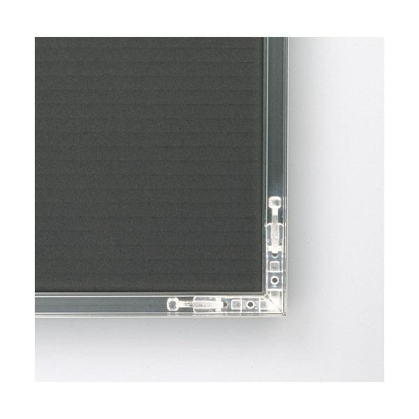 アートプリントジャパン ライトフレーム賞状額シルバー大A3 0020281633 (直送品)