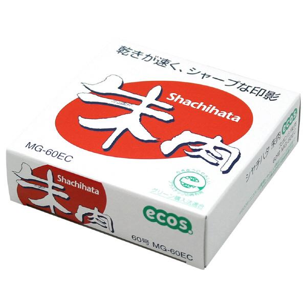 シャチハタ朱肉(エコス) 60号