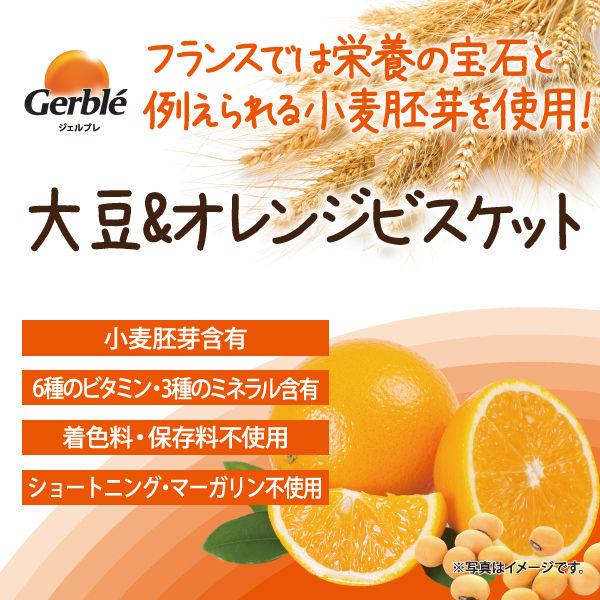 ジェルブレ 大豆&オレンジビスケット4枚